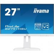 Monitor iiyama B2791HSU-W1, 27'', TN, FullHD, 1ms, 300cd/m2, 1000:1, 16:9, VGA, HDMI, DP, USB, repro, výšk.nastav., pivot