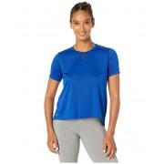 New Balance Impact Run Mesh Short Sleeve Techtonic Blue Heather