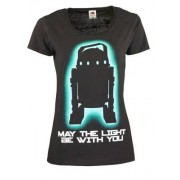 "Stairville Girlie T Shirt """"May the.."""" M"