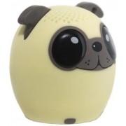 Boxa Portabila Yuppi Love Tech Dog, Bluetooth, Buton pentru selfie (Crem)