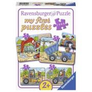 PUZZLE SANTIER, 2/4/6/8 PIESE - RAVENSBURGER (RVSPC06946)