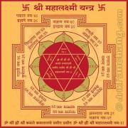 Jewelswonder Prabhu Drishti Mahalaxmi Yantra