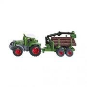 Tractor con remolque forestal Siku