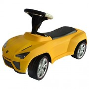 Costzon Licensed Lamborghini Kids Ride On Push Car Toddler Baby Racer Buggy