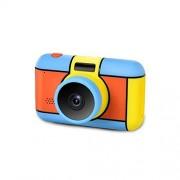 MZNEO Nueva cámara Digital Selfie Cámara Recargable Juguete 2.4 Pulgadas Pantalla HD Video Videocámara Regalo con luz de Flash para niños Niños Niñas, Verde