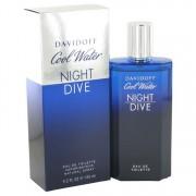 Davidoff Cool Water Night Dive Eau De Toilette Spray 4.2 oz / 124.2 mL Men's Fragrance 512053