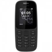 Мобилен телефон NOKIA 105 DS BLACK 2017