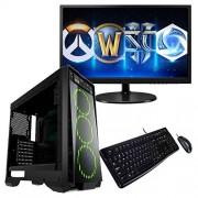 SUPERTIENDA CPU Gamer Ryzen 5 2400g 16gb ddr4 1tb 80+ led 20 Kit