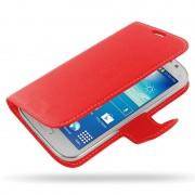 Bolsa em Pele PDair 3RSS96BX1 para Samsung Galaxy Grand Neo - Vermelho