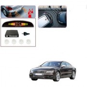 Auto Addict Car White Reverse Parking Sensor With LED Display For Audi NA