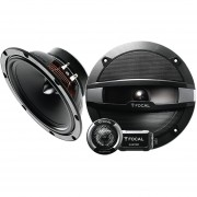 "Set De Medios Focal 6.5"" R-165S2 De 120 Watts 2 Vias"