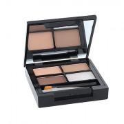Makeup Revolution London Focus & Fix Eyebrow Shaping Kit augenbrauen-set 5,8 g Farbton Light Medium für Frauen