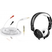 Zomo Bundle: HD 25 Kabel DeLuxe 3,5 m + Polsterset Teddy - white