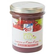 Gem bio de coacaze rosii (indulcit cu pulpa de mere) 220g