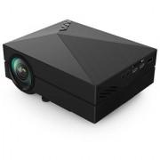 Original GM60 HD LED Mini Projector 800x480 1000 Lm AV HDMI USB TV Home Theater