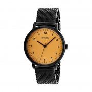 Simplify The 3200 Mesh-Bracelet Watch - Black/Orange SIM3207