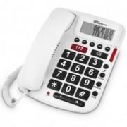 SPC TELECOM Teléfono Fijo SPC Comfort Voume Blanco