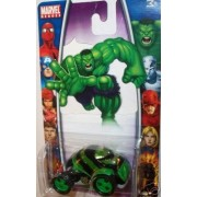 Marvel Heroes 2006 1:64 Scale The Incredible Hulk Green & Black Die Cast Car MGA Entertainment H26