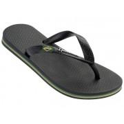 Ipanema Classic Brasil kids jongens slippers - Zwart - Size: 35