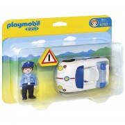 Playmobil 123 - Auto De Policia Con Señal - 6797