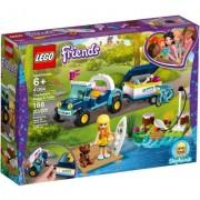Vehiculul cu remorca al Stephaniei 41364 LEGO Friends