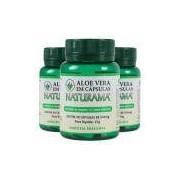 Kit 3x Aloe Vera (Babosa) Orgânica 500mg 30 Cápsulas - Naturama