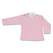 Bluzita bebe - imprimeu rosu