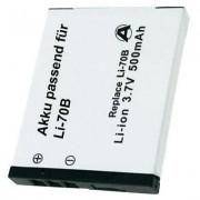LI-70B Olympus kamera akku 3,7 V 500 mAh, (251163)
