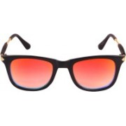 TheWhoop Rectangular Sunglasses(Orange)