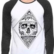 Camiseta Wevans Caveira MMXV - Masculino