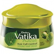Vatika Hair Styling Cream Hairfall Control 140ml (Pack Of 1)
