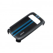Husa capac spate Nokia CC-3012 negru+albastru pentru Nokia E6