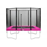 Salta Trampolines Combo Vierkant - 153x214 cm - Roze