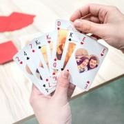 smartphoto Spelkort med personlig baksida text