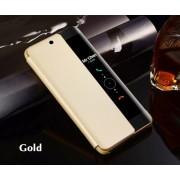 Huawei Mate 20 Lite (калъф кожен) 'View Cover' (златист)
