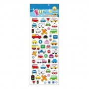 Geen Stickervel verkeer thema 20 stuks kinderstickers