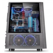 Thermaltake Core X71 Full Tower USB3.0 Tempered Glass - Black - DARMOWA DOSTAWA!!!