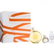Hermès L'Ambre des Merveilles coffret V. Eau de Parfum 100 ml + Eau de Parfum 7,5 ml + leite corporal 40 ml