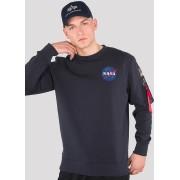 Alpha Industries Space Shuttle Sweatshirt Blau 2XL