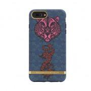 Richmond & Finch Tiger & Dragon tijger draak blauw rood iPhone 6 Plus 6s