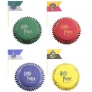 Cinereplicas Harry Potter - Cupcake Baking Cups and flags