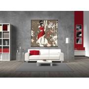 Tablou canvas arta abstracta - cod C37