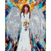 Gaira Malování podle čísel Anděl s květy M992442
