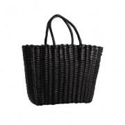 Bodum SHOPPINGBAG Sac à provisions en plastique, Noir, 40 x 30 x 30 cm Noir