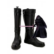 Star Wars: The Force Awakens Movie Kylo Ren Cosplay Shoes Sith Cosplay Boots Black