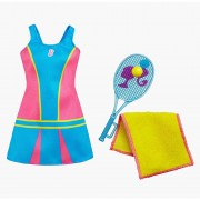 Vestimentatie Barbie - Antrenamentul de Tenis