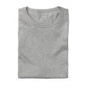 HEMA 2-pak Heren T-shirts Regular-fit Grijsmelange (grijsmelange)