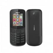 Nokia 130 (2017) Mobiltelefon, Kártyafüggetlen, Dual Sim, Fekete