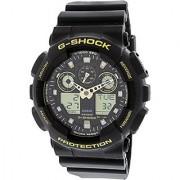 Casio G-shock Analog-Digital Black Dial Mens Watch-GA-100GBX-1A9DR (G780)