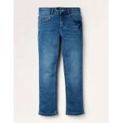 Mini Mittleres Vintageblau Schmale Jeans mit Adventure-Flex Jungen Boden, 128, Denim